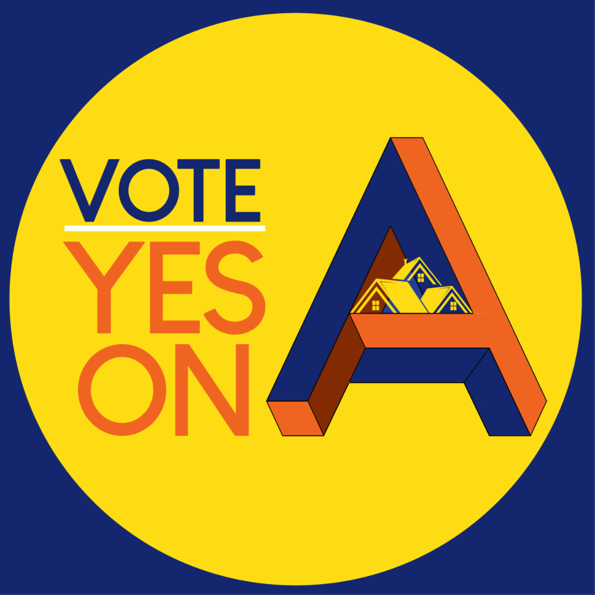 Vote Yes on A logo
