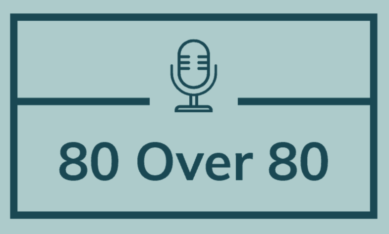 logo for 80 over 80 project