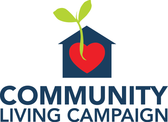 Community Living Campaign. Click here to go to our website.