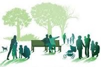 image of people in a park