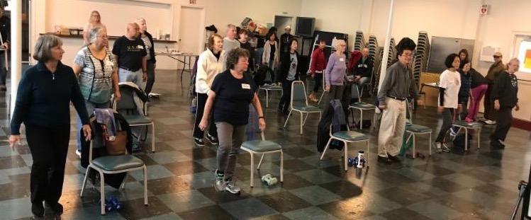 exercise program participants