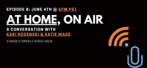 logo for at home, on air