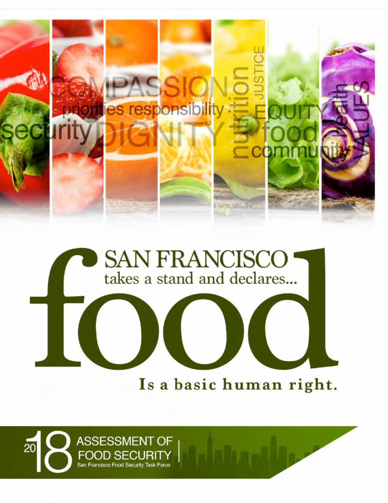 cover of food security report