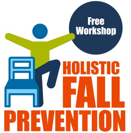 logo for free holistic fall prevention workshop