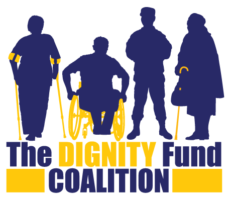 logo for the Dignity Fund Coalition