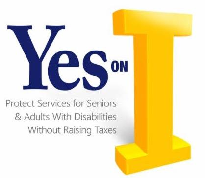 yes on I - protecting seniors and adult with disabilities without raising taxes