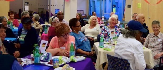 multi-ethnic seniors
