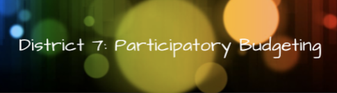 district 7 participatory budgeting