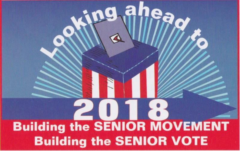 CARA Logo about Building the Senior Vote in 2018