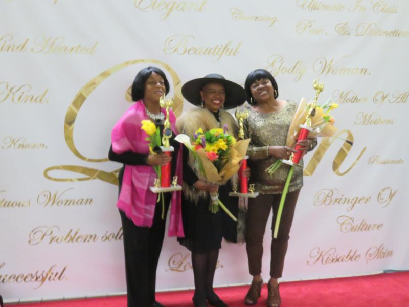 women honored at event
