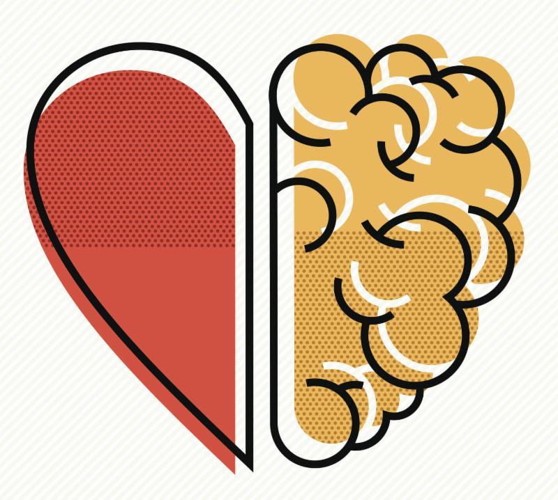 Heart_ brain abstract illustration