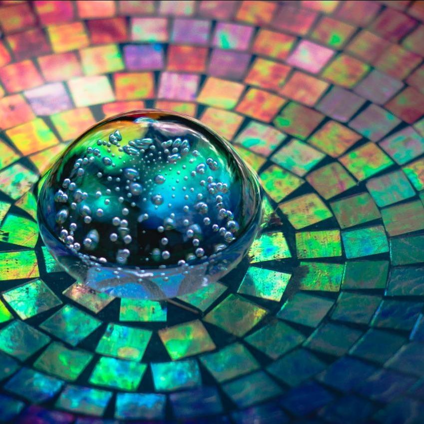 rainbow tile image