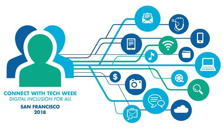 connect with tech logo