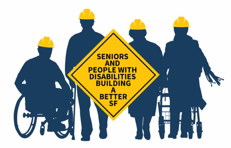 logo that says seniors and people with disabilities building a better San Francisco