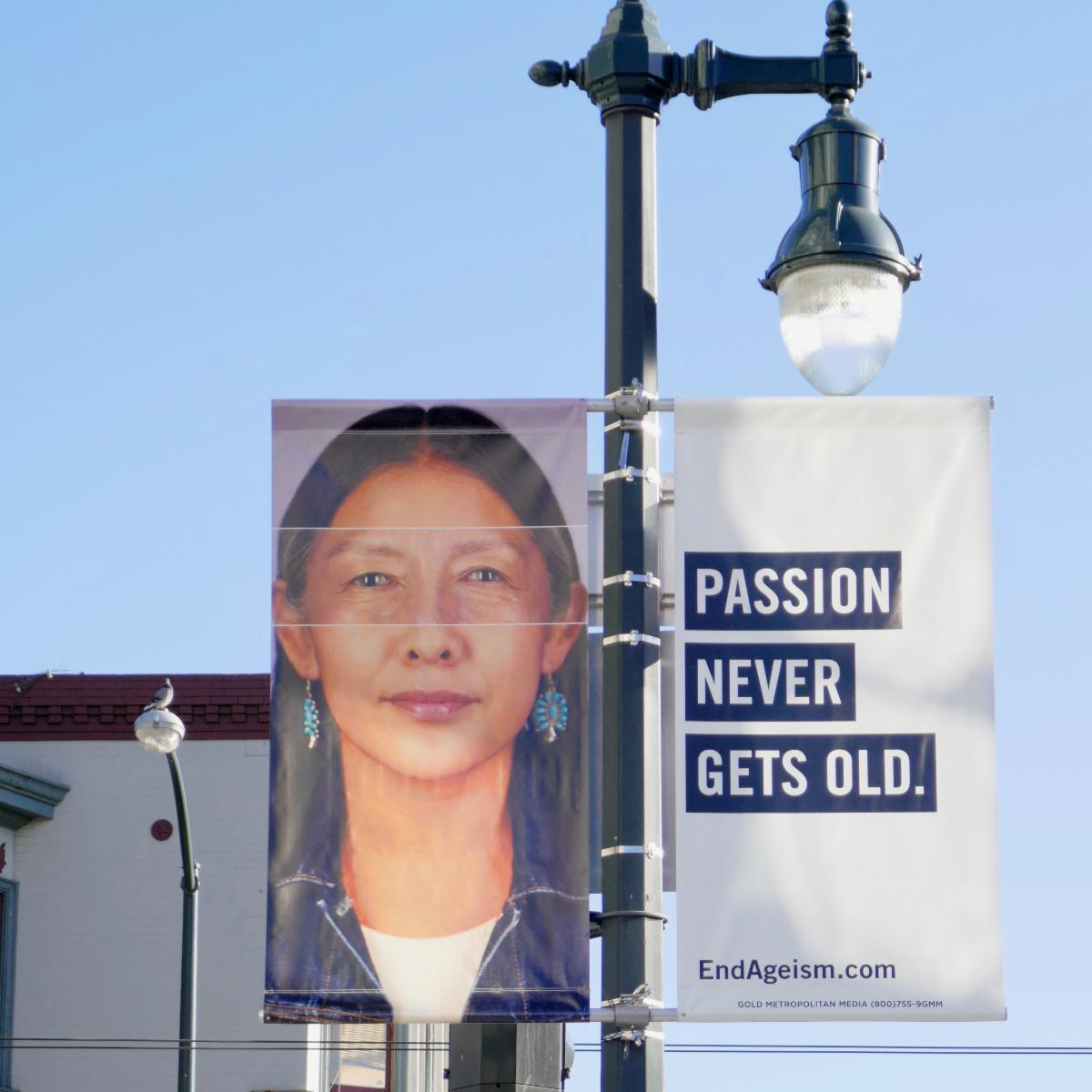 Passion Never Gets Old Light Post Photo