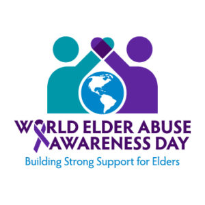 logo for World Elder Abuse Awareness Day