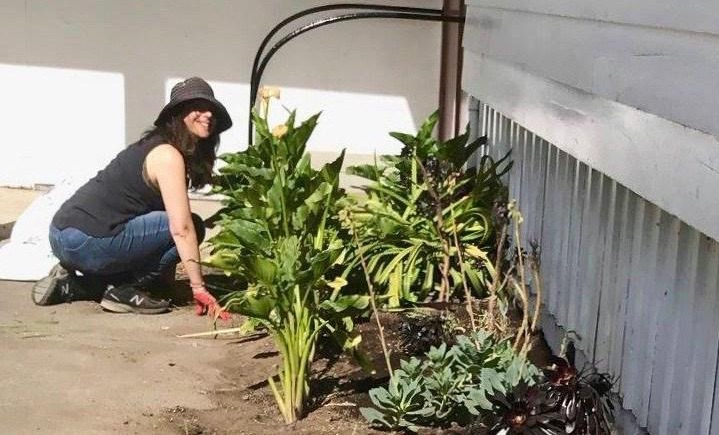 Marina gardening at Merced Extension Connectors