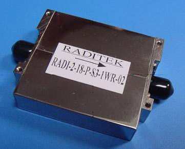 Ultra Wideband Peripheral Mode multi octave Isolator