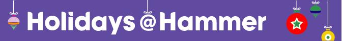 Holidays @ Hammer Logo