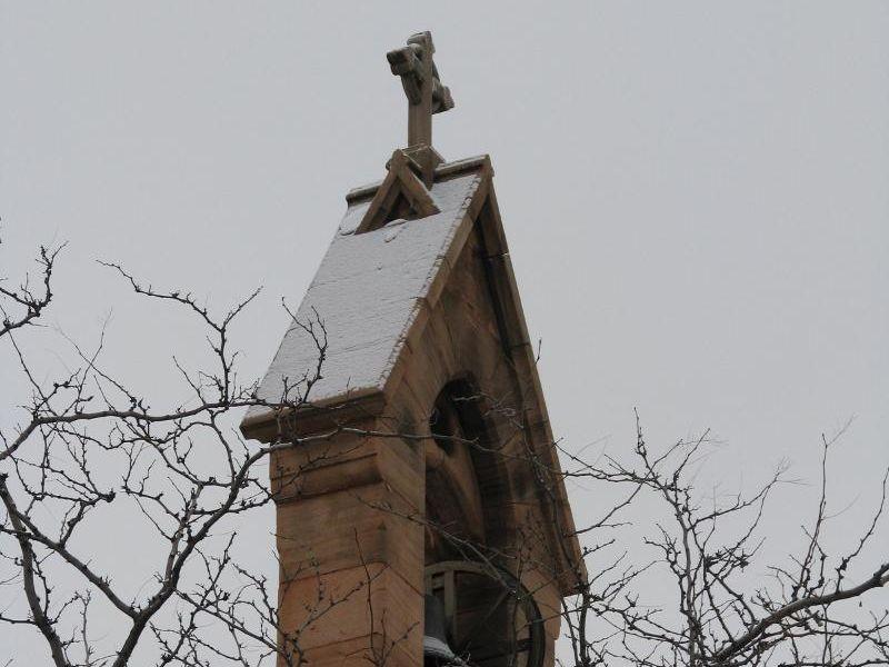 St. Mark's winter tower