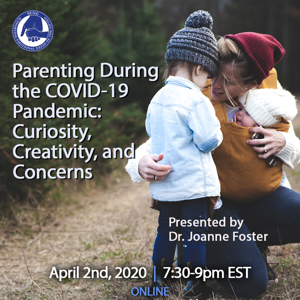An Interview with Dr. Joanne Foster:  Parenting During the Coronavirus Outbreak