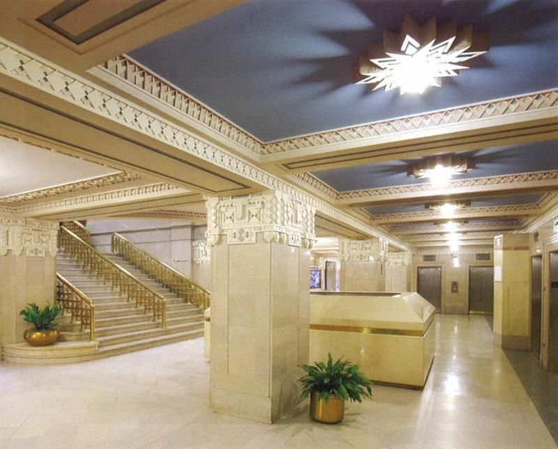 Standard Building lobby