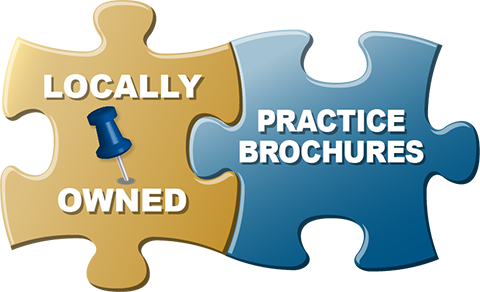 locally owned & practice brochures