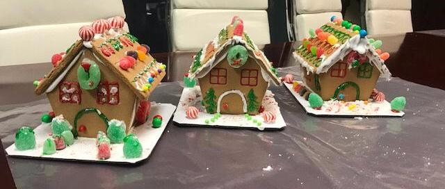 Gingerbread house competition 2017