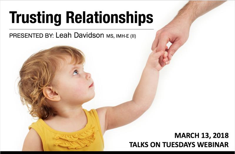 March 2018 Talks on Tuesdays Webinar