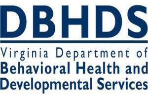 DBHDS Virginia Department of Behavioral Health and Developmental Services logo