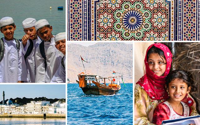Scenes from Oman.