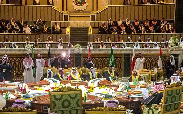 The 2015 GCC Heads of State Summit in Riyadh, Saudi Arabia.