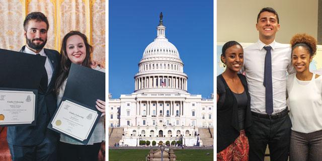 NCUSAR Washington, DC Summer Internship Program Students