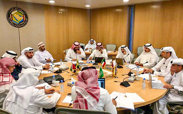 An example of the GCC's multifaceted functional dimensions: the GCC Air Navigation Commission held its 15th meeting in November 2019. Comprised of representatives of the civil aviation bodies of the GCC member-states and GCC military affairs specialists, the commission discussed considerations surrounding air space and data sharing. Photo: Gulf Cooperation Council Secretariat, 2019.