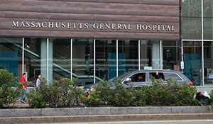 Mass General Hospital from Cambridge Street