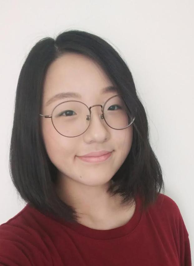 Jane Jun smiles at camera