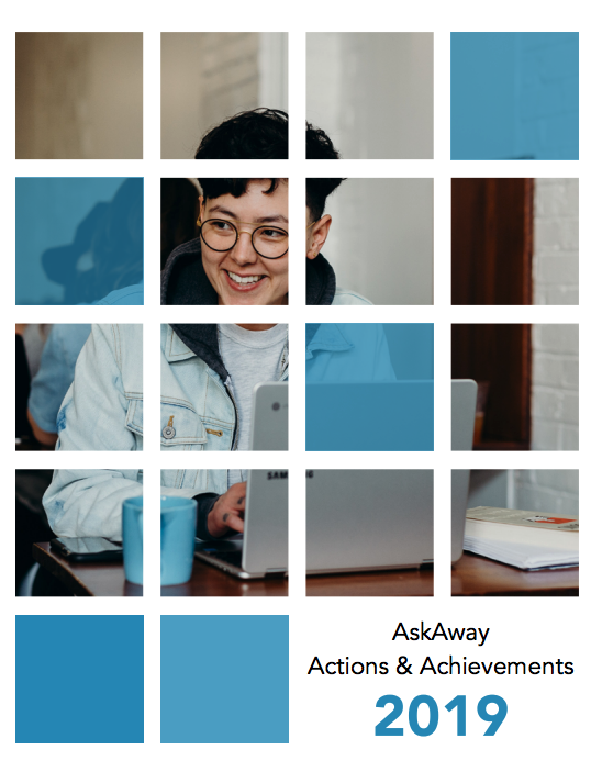 Cover of AskAway 2019 Actions & Achievements