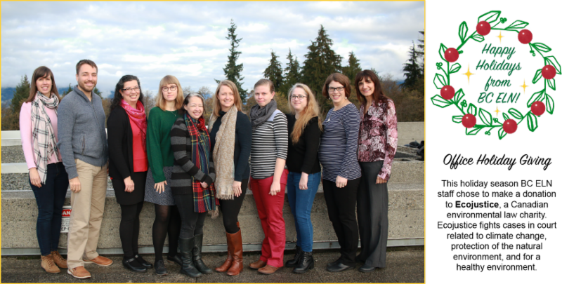 Photograph of BC ELN staff