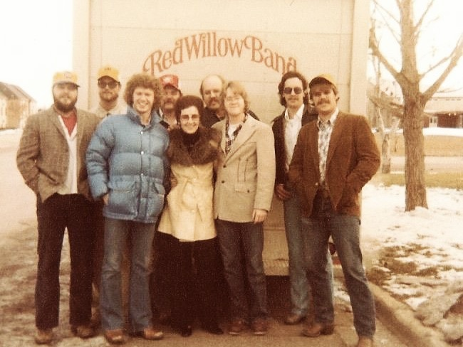 Red WIllow Band in front of the truck