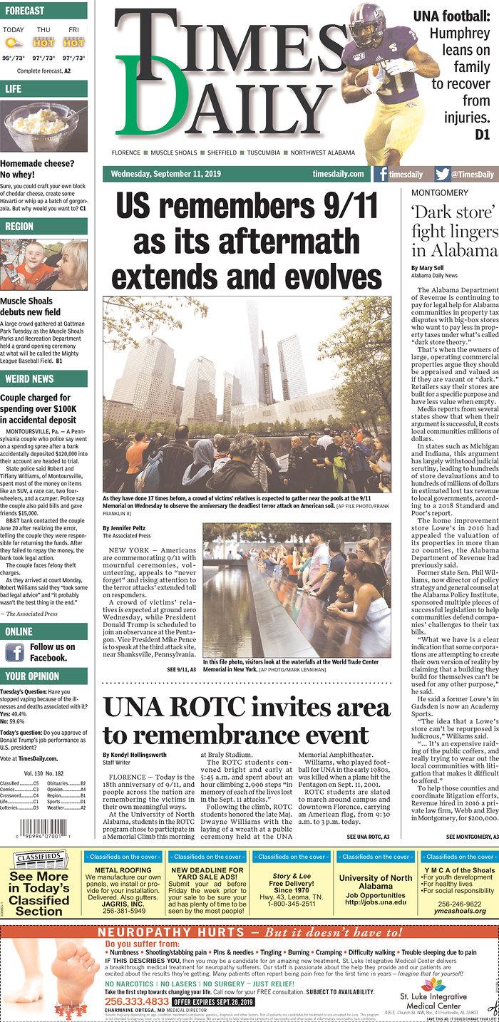 🗞️Daily News - September 11, 2019
