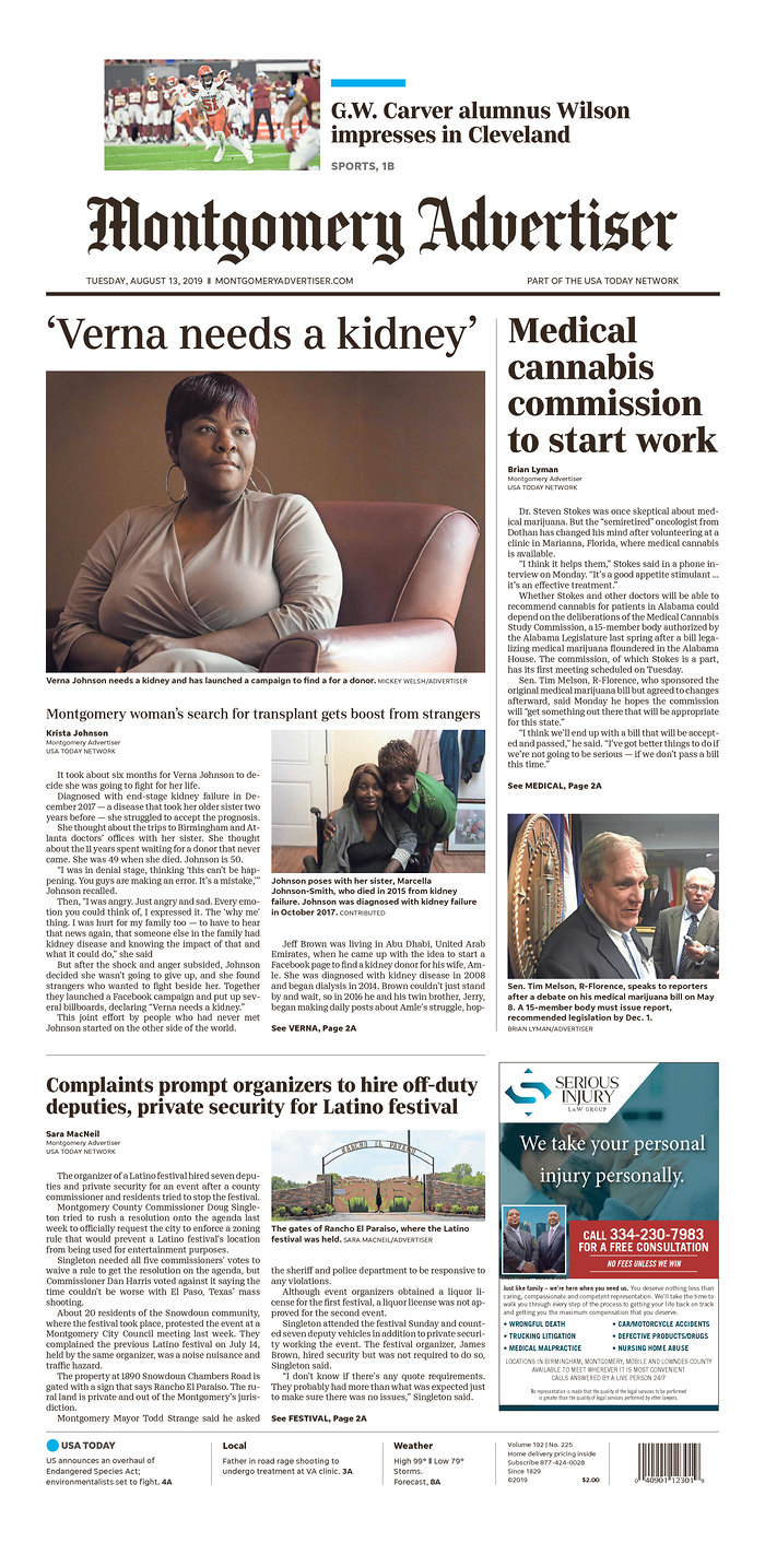 Daily News Digest - August 13, 2019 | Alabama Daily News