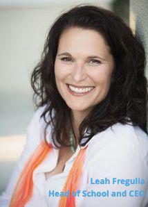 Leah Fregulia, Head of School and CEO