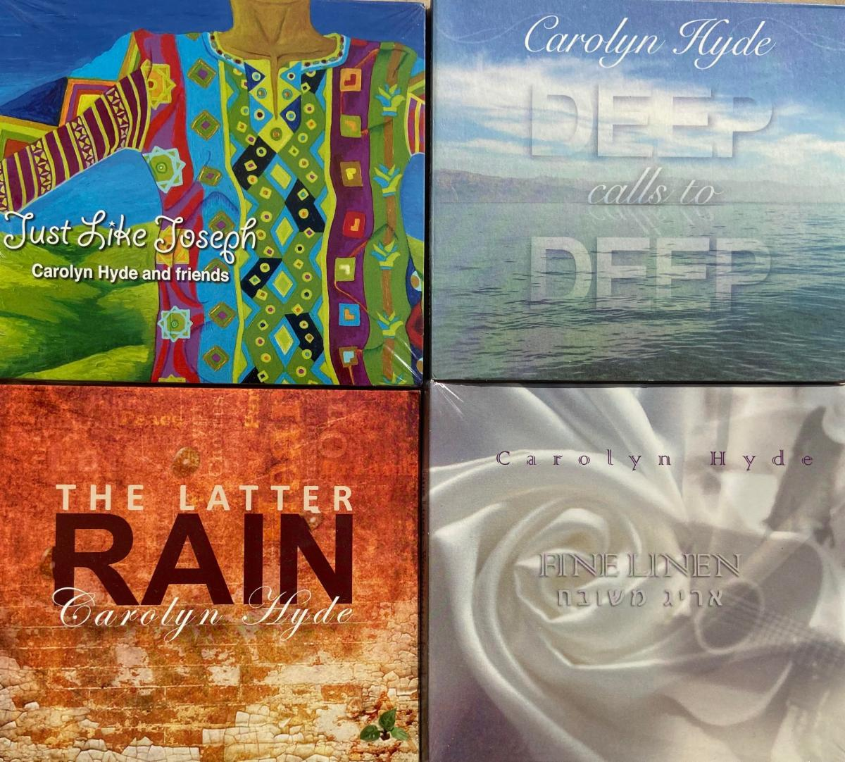 Four worship CDs
