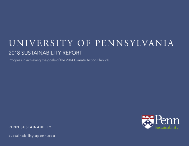 cover of FY18 Annual Report
