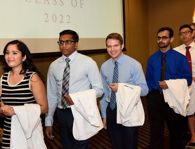 2018 White Coat Ceremony at Baylor College of Medicine
