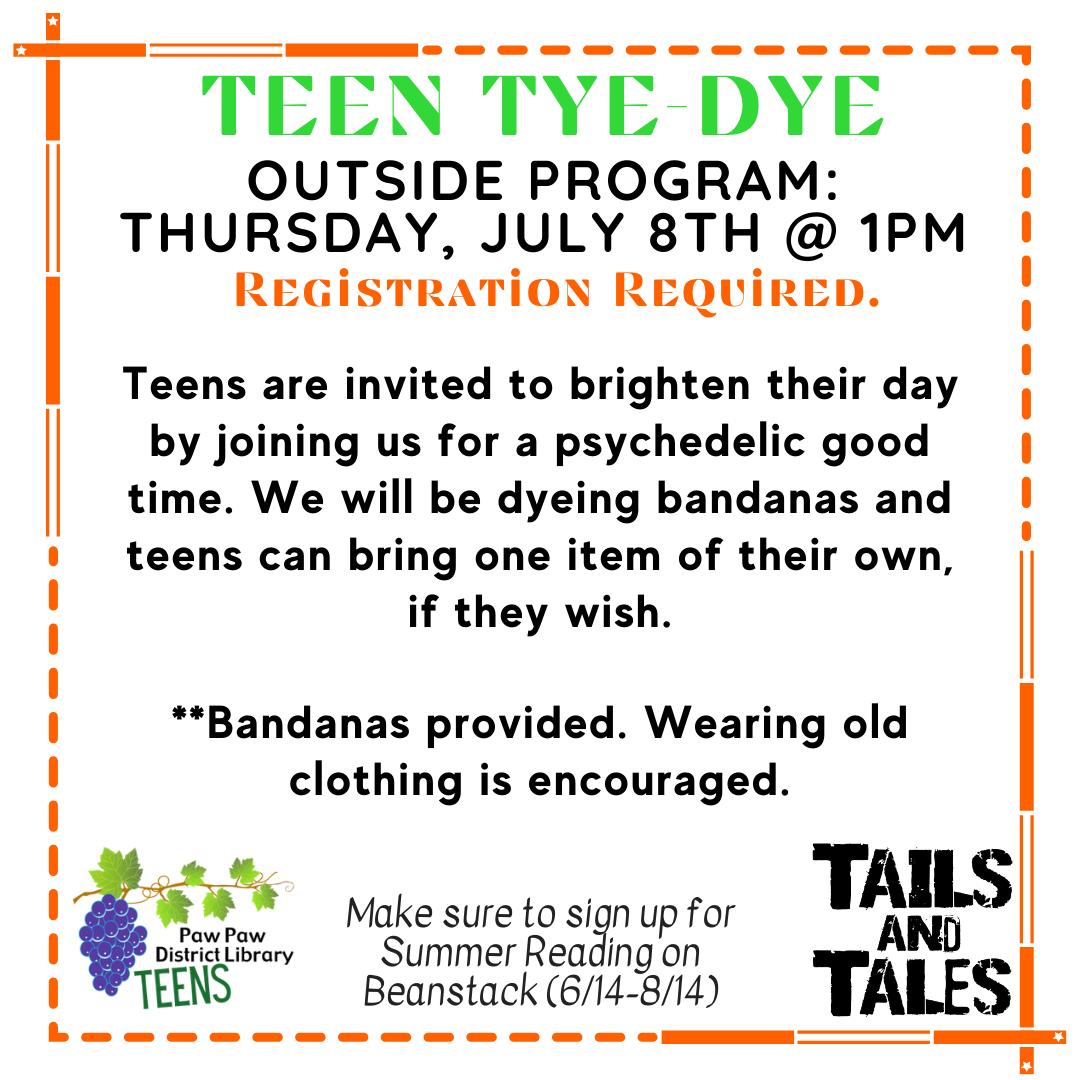 Teen Tye-Dye