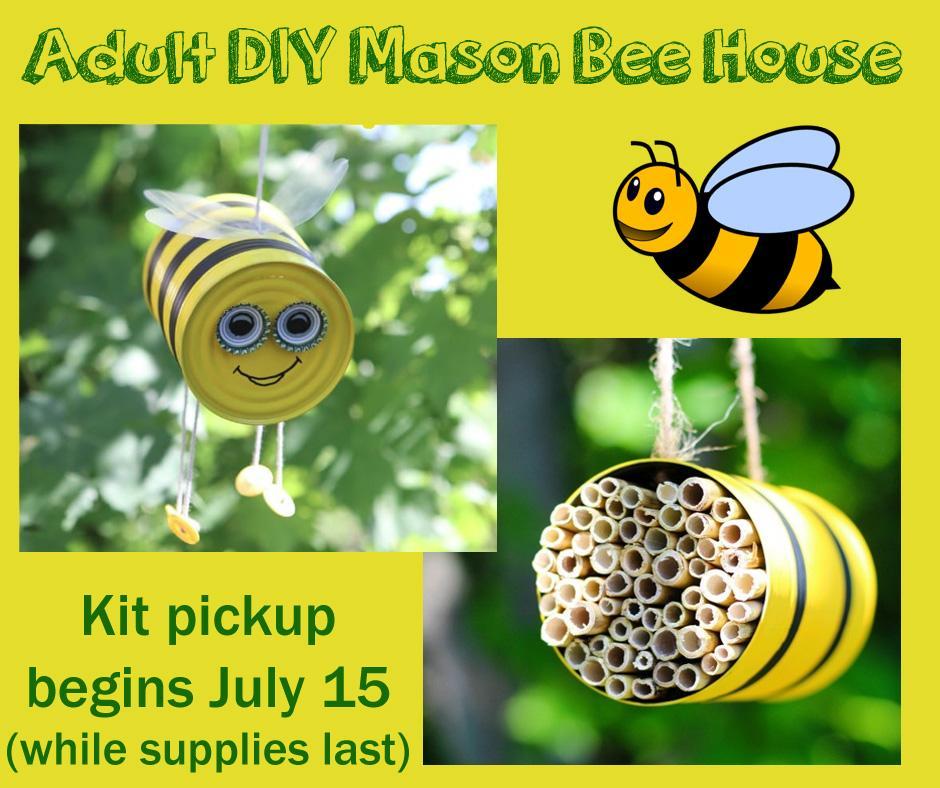 Adult DIY Mason Bee House