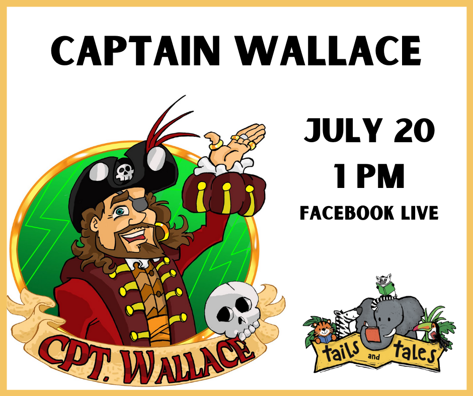 Captain Wallace on Facebook Live