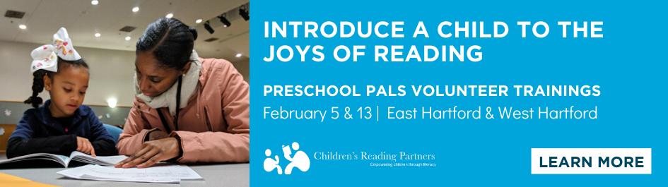 Preschool Pals literacy volunteer training sessions