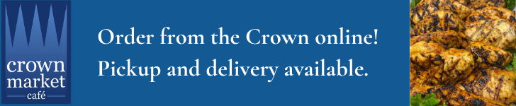 Crown Market ad: Click here to visit the store online.